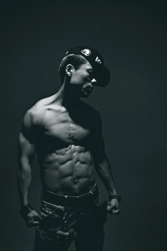 筋肉,筋トレ,ダンサー,メンズ
