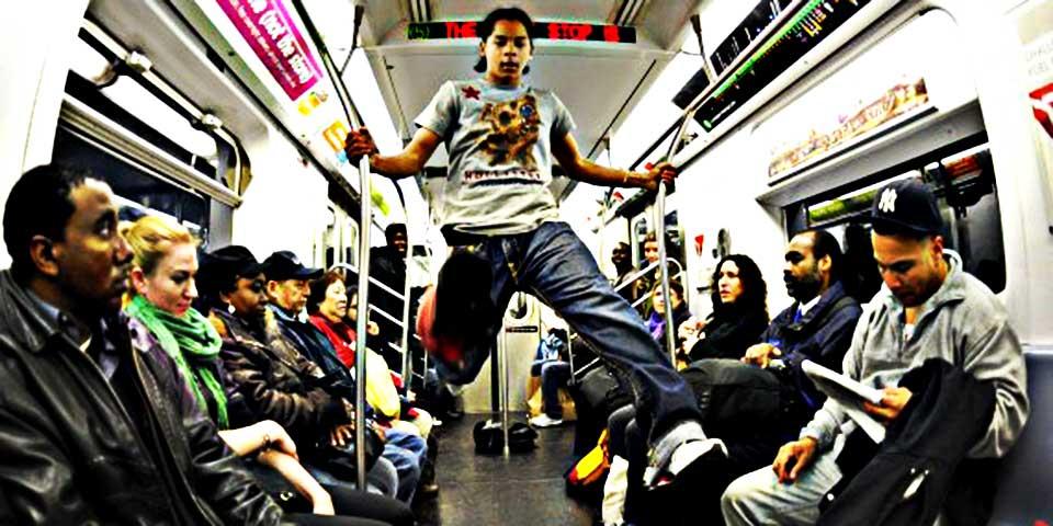 電車 ダンス 踊る ダンサーあるある