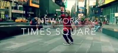 今度はHAWAII から!SHUHOダンス動画が到着!DANCE at NEWYORK TIMES SQUARE!!