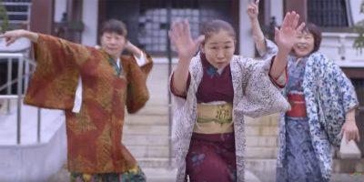 世界よこれが日本のダンスおばあちゃんだ!アラウンド60がブルーノ・マーズ「24k Magic」でファンキーダンス