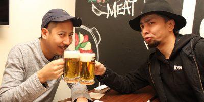 【下北沢編】飲み会やイベントを開催できるアプリ「mogood」を二人で飲みながら試してみた。