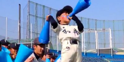 「スッキリ!!」でも話題に!福井工大福井高校のキレキレダンスする可愛すぎる小さな応援団長
