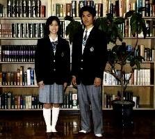 登美丘高校の制服 冬服