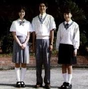 登美丘高校の制服 夏服